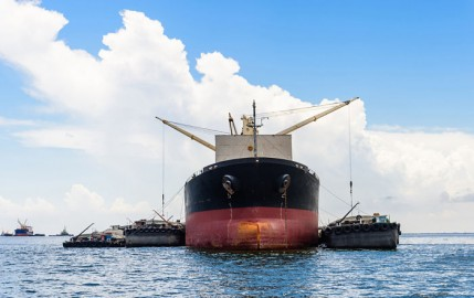 Prevention of disputes on dry bulk Cargo quantities  at Discharge Ports