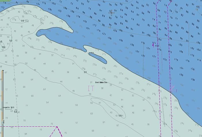 two color mode safety setting ECDIS