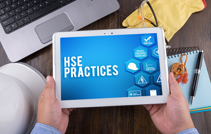 Best practices of QHSE department of a shipping company