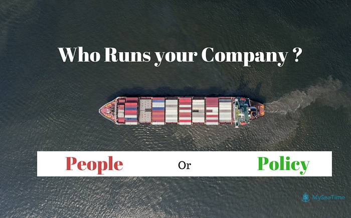 who runs your company people or policy