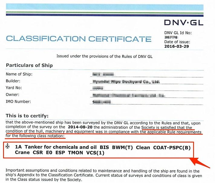 vessel classification and certification govuk - 711×603
