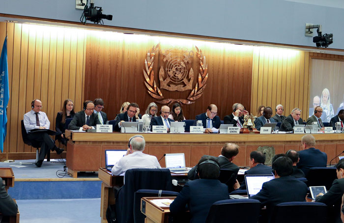 IMO-convention-in-force